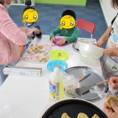 みんなでお菓子作りをしました♪